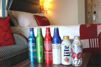 Domestic Beer 16 oz Aluminum 6-Pack  - Select and enjoy 6 16 oz chilled domestic beers for the price of 5!