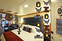 Transform your stateroom into a howling fun Halloween celebration!