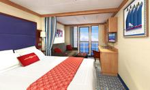 A Majestic Disney Cruise Line Ship Docked at Disney's Castaway Cay